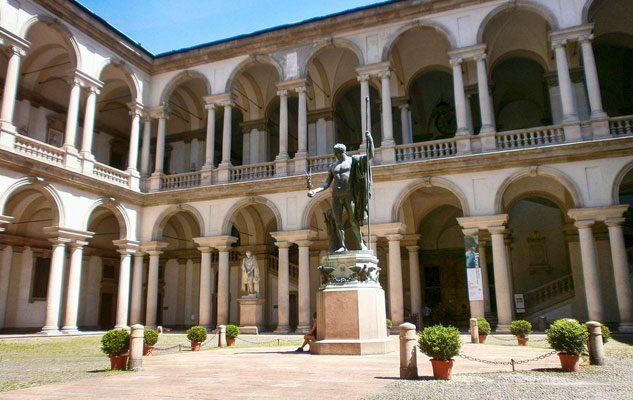 La Pinacoteca di Brera: una delle gallerie d'Arte più importanti e famose al mondo