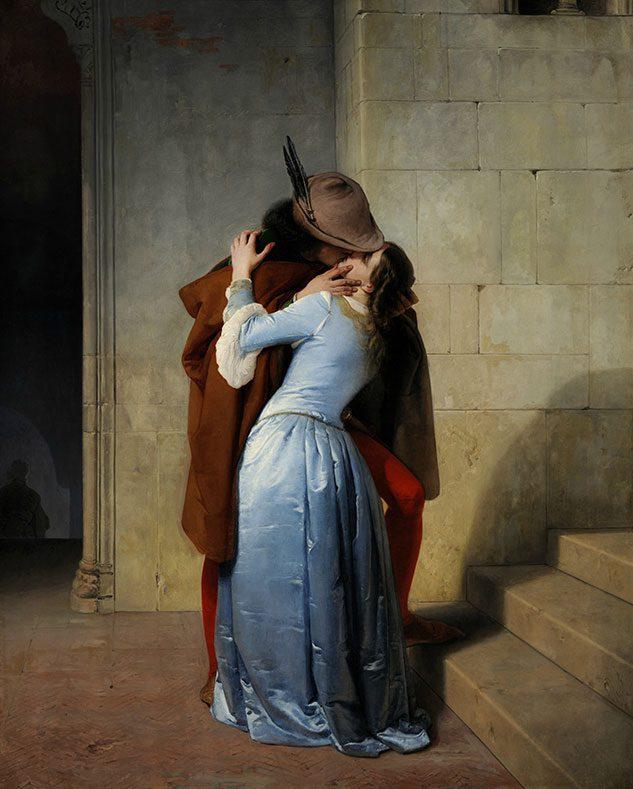 Il Bacio (di Hayez)