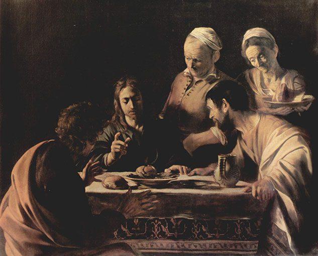 La Cena in Emmaus (di Caravaggio)