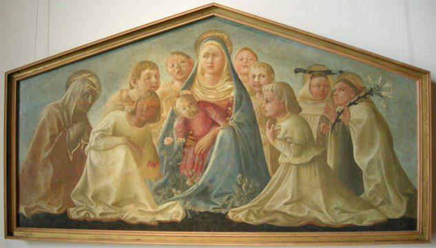 La Madonna dell'umiltà (di Filippo Lippi)