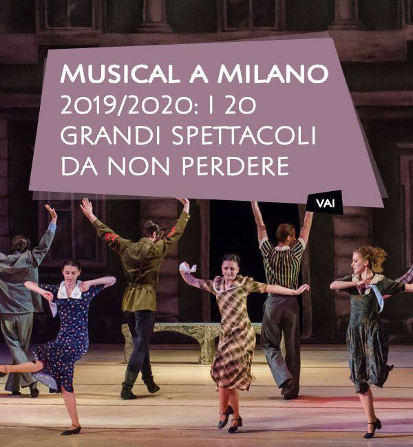 Musical a Milano 2019/2020
