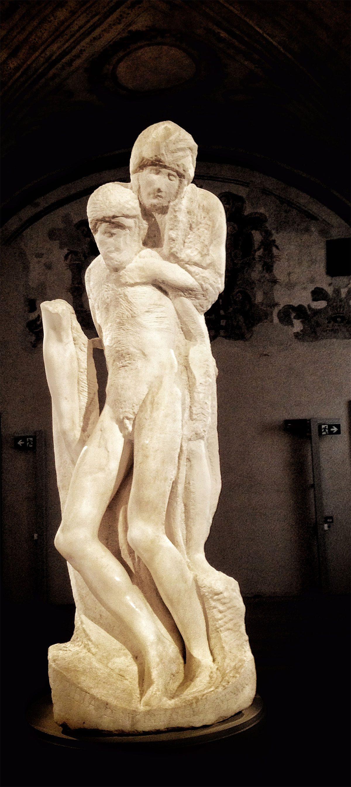 Pietà Rondanini (di Michelangelo)