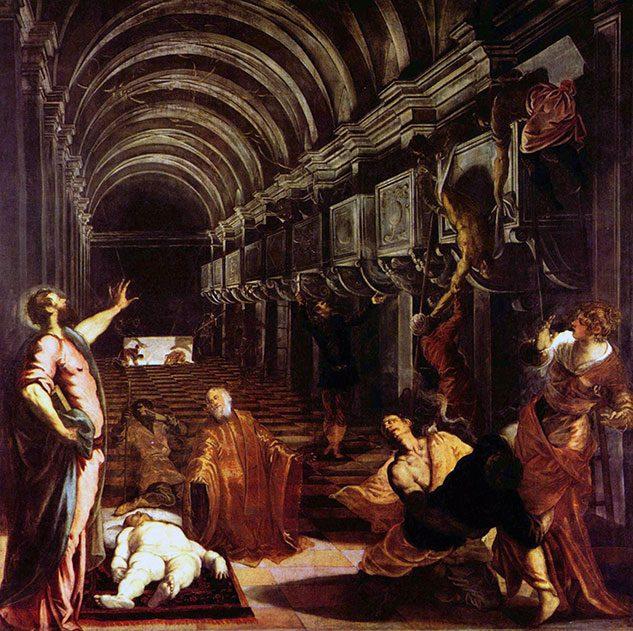 Il ritrovamento del corpo di San Marco (di Tintoretto)