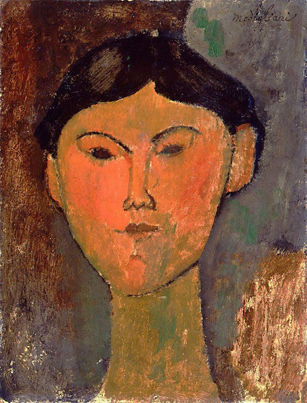 Ritratto di Beatrice Hastings (di Amedeo Modigliani)
