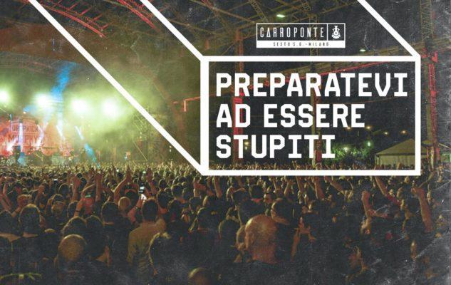 Estate 2019 al Carroponte: concerti, party e tanto divertimento