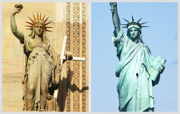 La Statua della Libertà di Milano (che ispirò quella di New York)