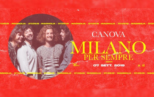 Canova al Circolo Magnolia di Segrate nel 2019: data e biglietti del concerto