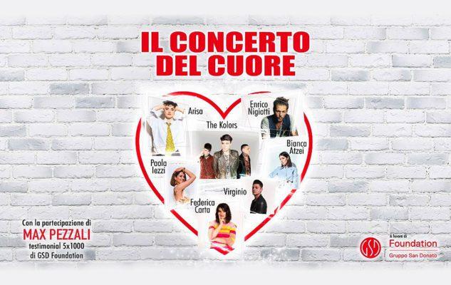 Il Concerto del Cuore a Milano nel 2019: data e biglietti del concerto