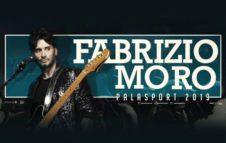 Fabrizio Moro a Milano nel 2019
