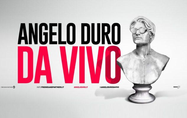 """Angelo Duro a Milano: data e biglietti del nuovo spettacolo """"Da vivo"""""""