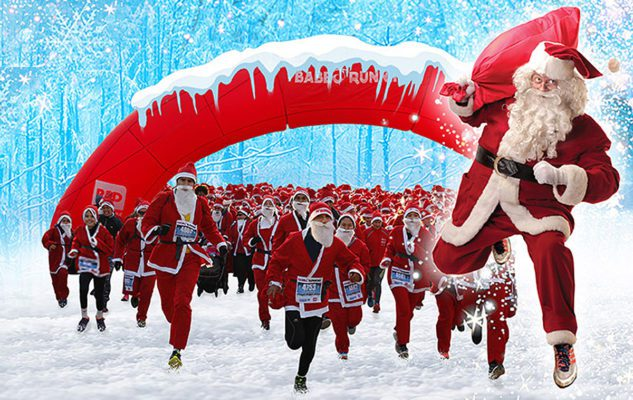 Babbo Running 2019 a Milano: la 5 km in costume da Babbo Natale