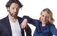 "Katia Follesa e Angelo Pisani a Milano nel 2021 con ""Finché Social non ci separi"""