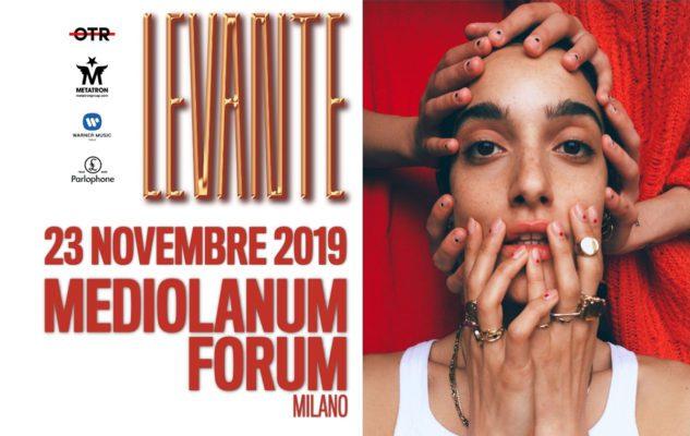 Levante a Milano nel 2019: data e biglietti del concerto