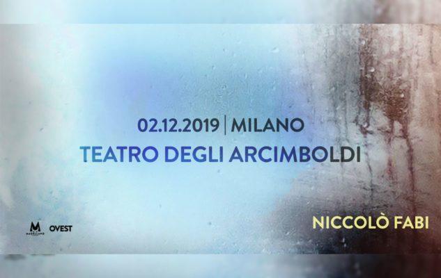 Niccolò Fabi a Milano nel 2019: data e biglietti del concerto