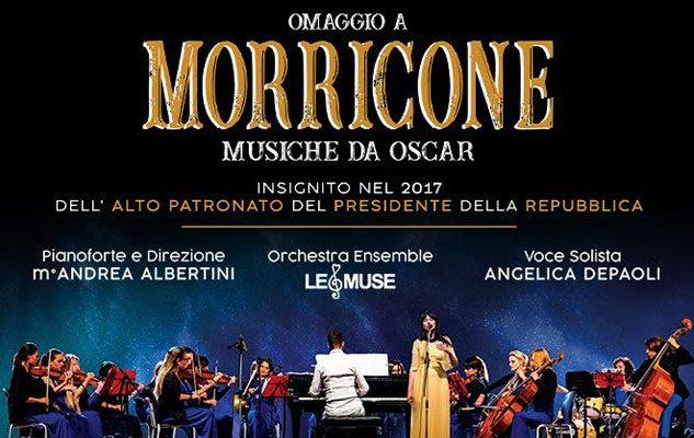 Omaggio a Morricone: musiche da Oscar in teatro a Milano