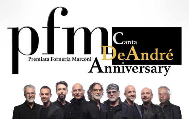 PFM canta De André a Milano nel 2019: data e biglietti del concerto