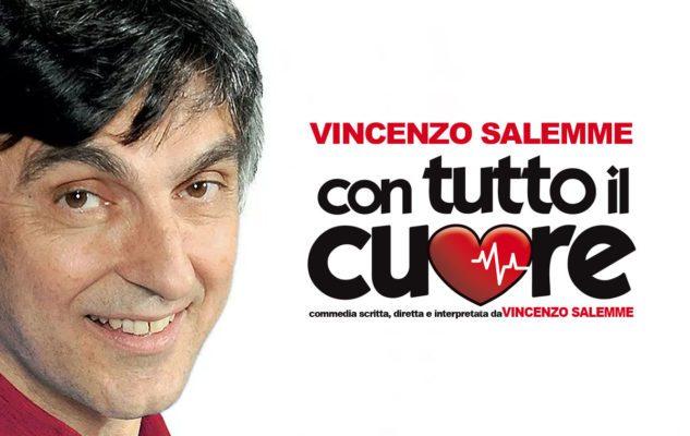 """Vincenzo Salemme a Milano: date e biglietti di """"Con Tutto il Cuore"""""""
