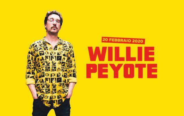 Willie Peyote a Milano nel 2020: date e biglietti del concerto