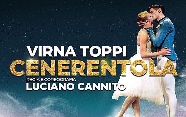"""""""Cenerentola"""", il balletto di Luciano Cannito con Virna Toppi a Milano"""