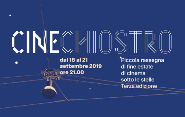 """""""Cinechiostro"""": la rassegna gratuita di cinema all'aperto che chiude l'Estate 2019"""