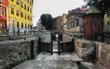 La Conca dell'Incoronata e le Porte Vinciane, romantico scorcio dei Navigli lombardi