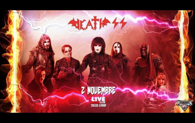 Death SS a Milano nel 2019: data e biglietti del concerto