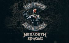 Five Finger Death Punch e Megadeth