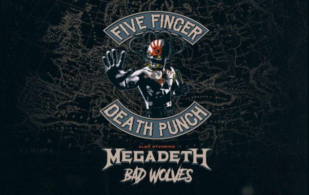 Five Finger Death Punch e Megadeth a Milano nel 2020: data e biglietti del concerto
