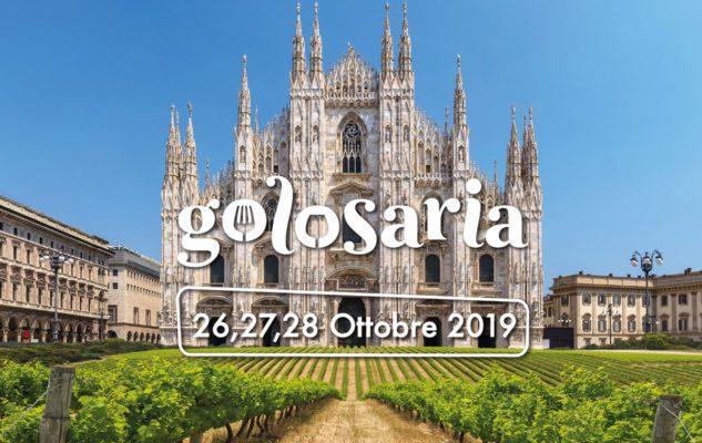 Golosaria 2019: le eccellenze enogastronomiche italiane arrivano a Milano