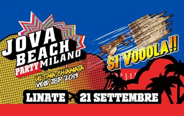 """Jovanotti a Milano: il Jova Beach Party """"atterra"""" all'Aeroporto di Milano Linate"""