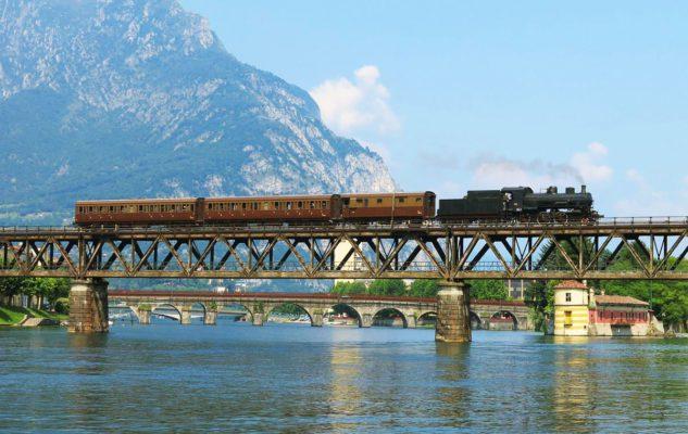 Lario Express: un viaggio nel tempo sul treno storico che collega Milano al Lago di Como