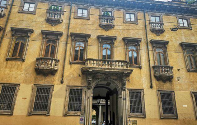 "Palazzo Acerbi, la ""Casa del Diavolo"""