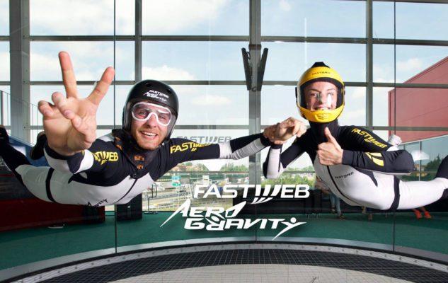 Aero Gravity a Milano, il più grande simulatore di caduta libera al mondo