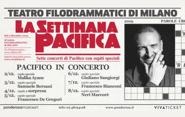 Pacifico in concerto con 7 ospiti speciali a Milano nel 2019: data e biglietti del concerto