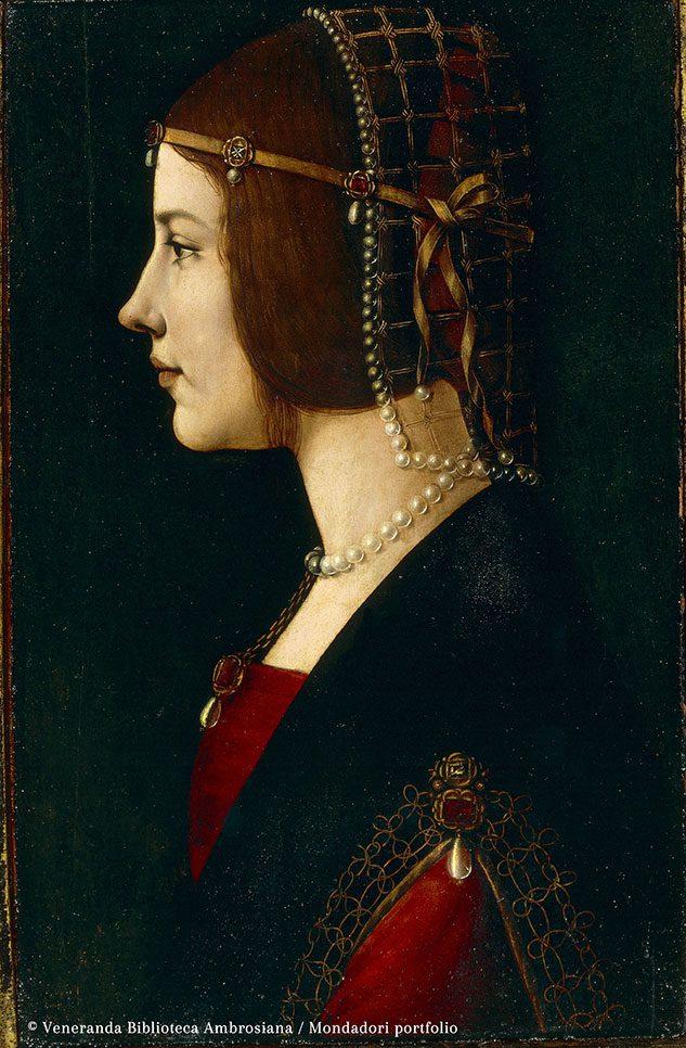 Ritratto di Dama (di Giovanni Ambrogio de Predis)