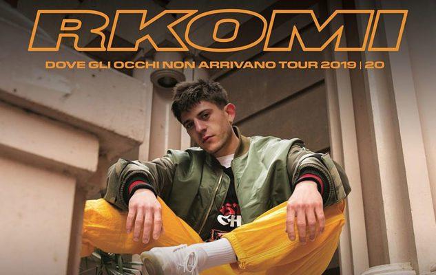 Rkomi a Milano nel 2020: data e biglietti del concerto