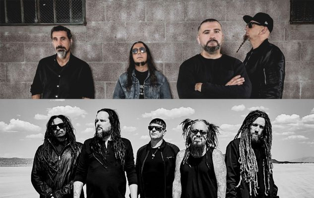 System Of A Down + Korn agli I-DAYS di Milano del 2020