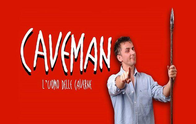Caveman: a Milano lo spettacolo di Rob Becker per il Capodanno 2020 a teatro