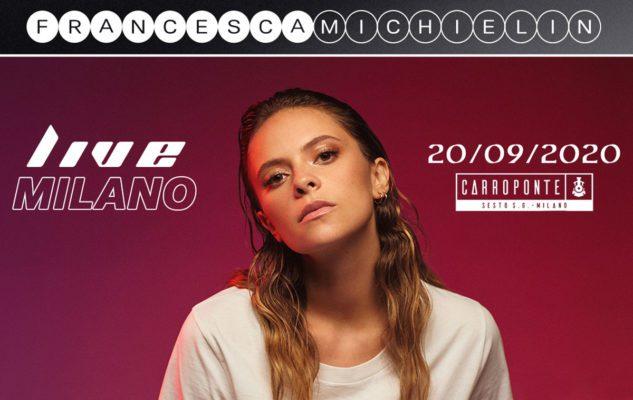 Francesca Michielin a Milano nel 2020: data e biglietti del concerto
