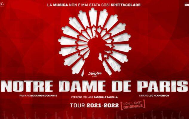"""""""Notre Dame de Paris – Il Musical"""" a Milano nel 2022: nuove date e biglietti"""