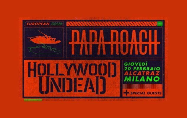 Papa Roach all'Alcatraz Milano nel 2020: data e biglietti del concerto
