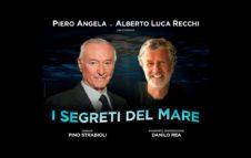 """Piero Angela e Alberto Luca Recchi a Milano nel 2020 con """"I segreti del mare"""""""