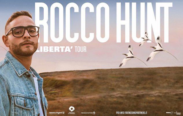 Rocco Hunt in concerto a Milano nel 2020: data e biglietti