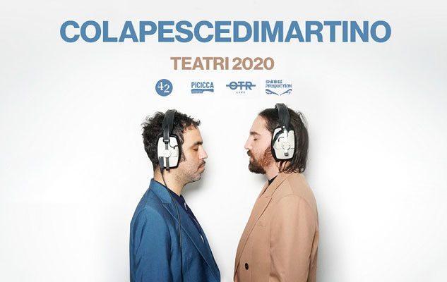 Colapesce e Dimartino a Milano nel 2020: data e biglietti del concerto