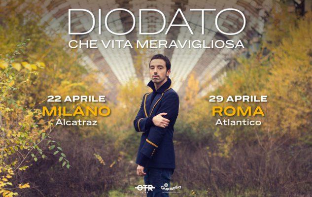 Diodato in concerto a Milano nel 2020: data e biglietti