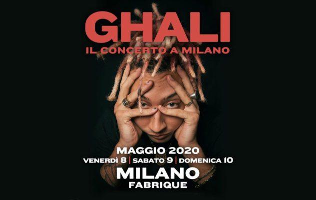 Ghali a Milano nel 2020: data e biglietti del concerto