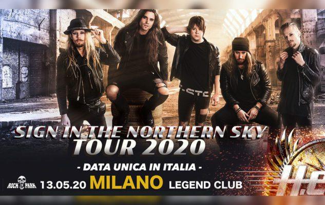 H.E.A.T. a Milano nel 2020: data e biglietti del concerto