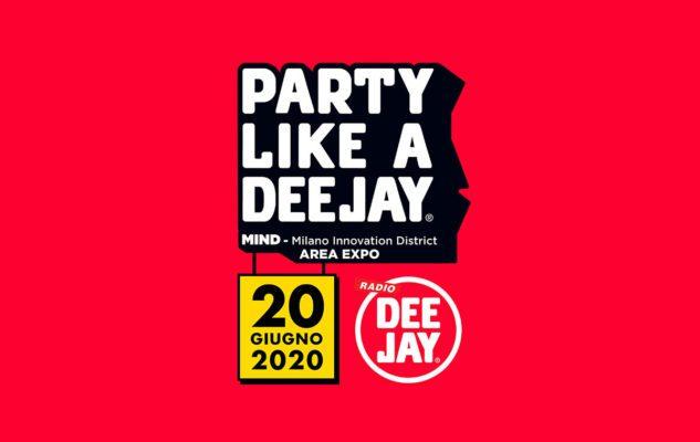 Party Like a Deejay 2020, a Milano la grande festa di Radio Deejay