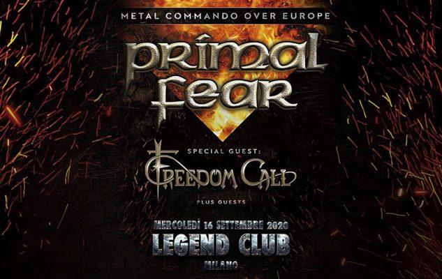 Primal Fear a Milano nel 2020: data e biglietti del concerto