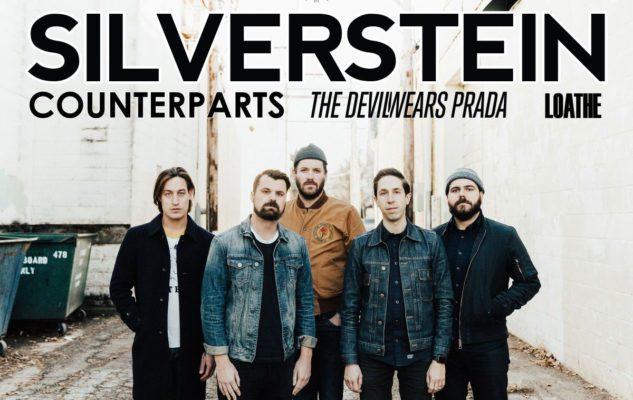 Silverstein in concerto a Milano nel 2020: data e biglietti